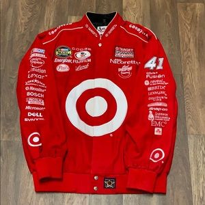Vintage Chase Authentics Mens Target Racing Jacket